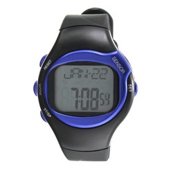 JS Digitaal Unisex Horloge met Calorieën Hartslagmeter