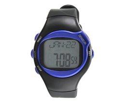 Digitaal Unisex Horloge met Calorieën Hartslagmeter