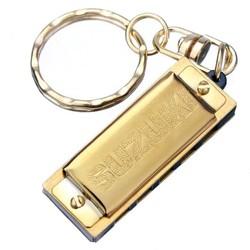 SUZUKI Gouden Harmonica Sleutelhanger