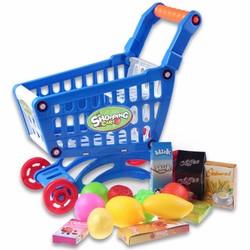 Supply Kinder Winkelwagentje met Boodschappen