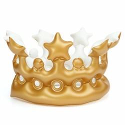 JS Opblaasbare Gouden Kroon voor Kinderen