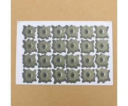 24 Kogelgaten Stickers voor de Auto