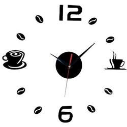 JS Klok Muursticker Koffie