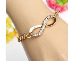 Armband met Infinity-teken