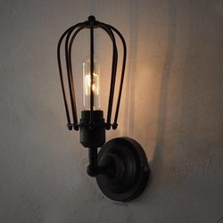 J&S Supply Vintage Muurlamp voor Filament Lampen