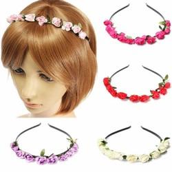Supply Haarband met Gekleurde Bloemen