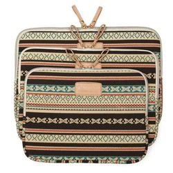 J&S Supply Laptop Sleeve met Bohemian Print