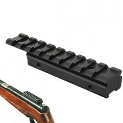 Supply 11mm naar 20 mm Zwaluwstaart Adapter Geweer