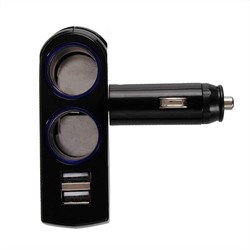 JS Dubbele USB Sigarettenaansteker Splitter
