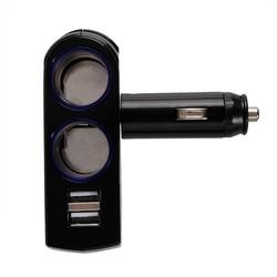 Supply Dubbele USB Sigarettenaansteker Splitter