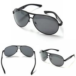 JS Zwarte Zonnebril