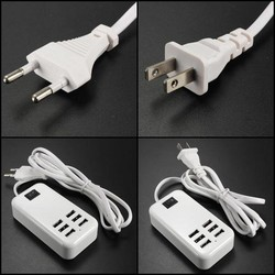 J&S Supply USB Charger met 6 Poorten