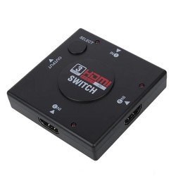 J&S Supply 3 Poorts HDMI Switch