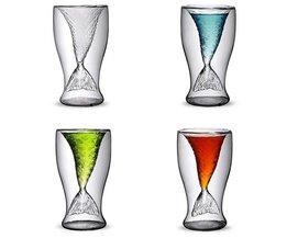 Dubbellaags Drinkglas Zeemeermin