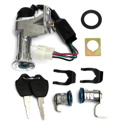 Supply Scooter Contactslot Set 4-Pins voor 50cc en 150cc GY6