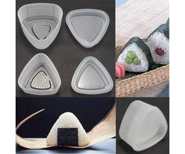 Mallen voor Onigiri Sushi