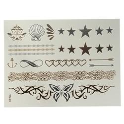 Supply Goud Zilveren Nep Tattoo Sticker
