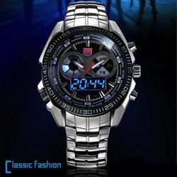HaoHua Horloge Voor Mannen RVS