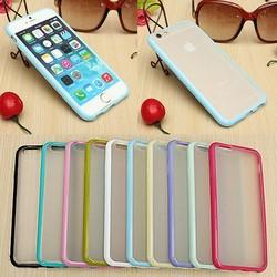 JS Bumper Met Transparant Hoesje Voor iPhone 6