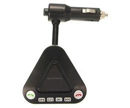 FM Transmitter Met MP3 Speler