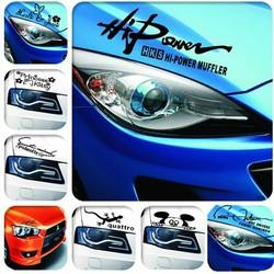 JS Koplampsticker Voor Je Auto