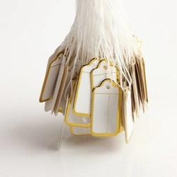 Supply Papieren Labels met Touwtje (500 Stuks)