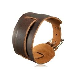 Supply Brede Leren Armband