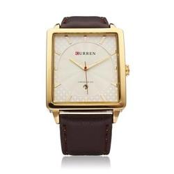 CURREN Rechthoekig Horloge Voor de Man