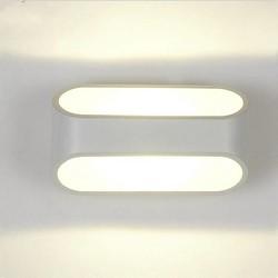 JS Aluminium LED Muurlamp