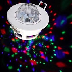 Supply 3W LED Draaiende Disco Lamp