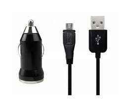 Universele USB kabel en auto oplader