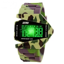 JS LED Camouflage Horloge