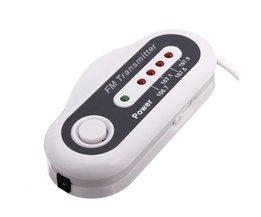 4 Kanaals FM Transmitter Autolader voor je iPod, MP3 of CD Speler