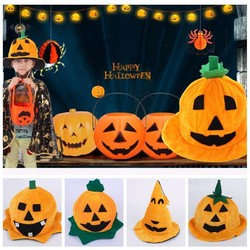 JS Pompoen Muts Halloween