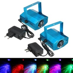 Supply LED Discolampen RGB 3W