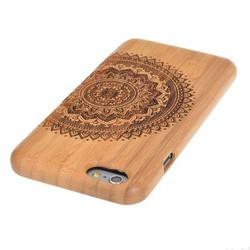 JS Houten Hoesje Met Mandala Patroon Voor iPhone 6