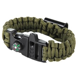 Supply Paracord Survival Armband met Opener en Kompas