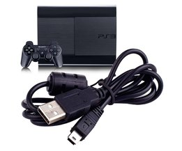 USB Charger Oplaadkabel Koord voor Sony Playstation 3 PS3 Controller Gamepad ps3 kabels ps3 controller cord oplaadkabel APE