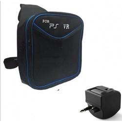 MyXL PSVR Bag Cover Travel Opslag Draagtas Schoudertas + Audio headset adapter micphone voor sony psvr vr ps4vr ps4 vr helm glas