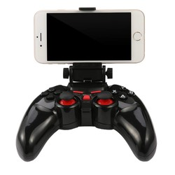 MyXL TI-465 Draadloze Android Bluetooth Gamepad DOBE Game Controller Joystick Voor Android iOS PC met Mobiele Telefoon Houder Gamepads