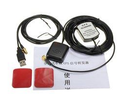 Volledige Set Auto GPS Signaal Antenne Versterker Booster Verbeteren Apparaat Met GPS Ontvanger + Transmiter 30DB Voor Telefoon Navigator