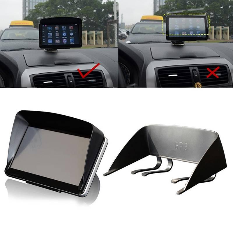 Vehemo 7 Inch Auto GPS Navigator Zonnescherm Zonnescherm Visor Anti Glare Accessoire
