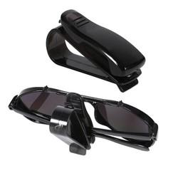 MyXL Auto Voertuig Clip Auto Accessoires Zonneklep Zonnebril Brillen Bril Ticket Houder Clip Universele Zwart