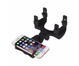 Auto Achteruitkijkspiegel Houder Stand 360 Graden Universele Auto houder Vent Mount Dock mobiele telefoon houder Voor Mobiele Telefoon GPS