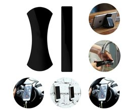 2 stks Magic Nano Rubber Pad Universele Sticker Geen Spoor Mobiele telefoon Houder Auto Kits Auto Bracket Pods Kleverige Gel pad