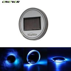 MyXL Universele Auto Anti Slip Mat Waterdichte Solar LED Auto Cup houder Mat Pad Fles Drankjes Coaster Ingebouwde Vibratie & Licht Sensor