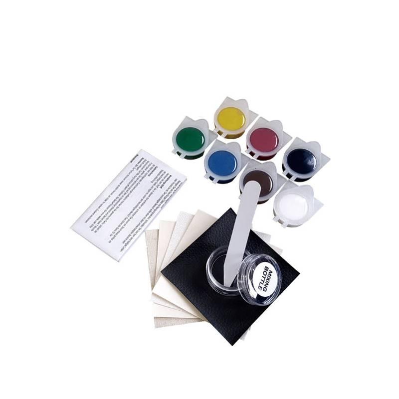 LARATH Vloeibare Leer en Vinyl Reparatie Kit voor Auto Leer Verf Lucht Droog Reparaties Gaten-Rips-T