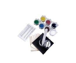LARATH Vloeibare Leer en Vinyl Reparatie Kit voor Auto Leer Verf Lucht Droog Reparaties Gaten/Rips/Tranen/gutsen