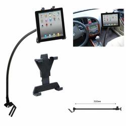 MyXL Draagbare Flexibele Auto Tablet Stand Auto Floor Seat Gooseneck Mount Houder Stand voor iPad 7-10.1 inch Tablet PC