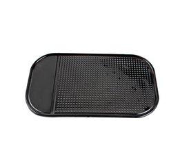 3 stks/partijKoop Zwart Plastic Schuim Antislip Dash Mat Sticker Dash Siliconen Auto Mat Dashboard Sticky Pad Voor Telefoon GPS # HP